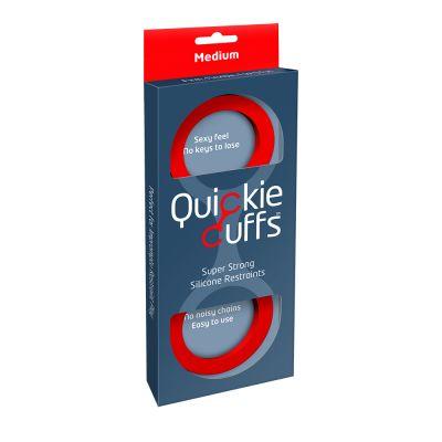 Quickie Cuffs Red (Medium) (case qty: 12)