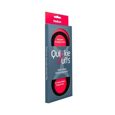 Quickie Cuffs Black (Medium) (case qty: 12)
