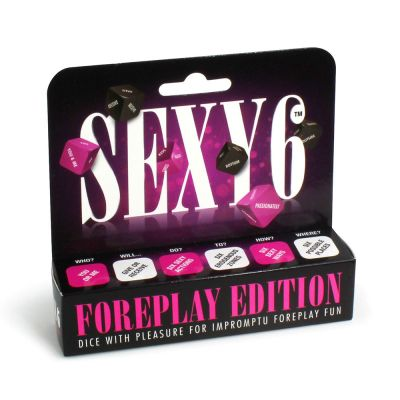 Sexy 6  Foreplay Edition (case qty: 10)