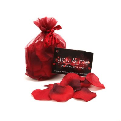 You & Me Red Rose Petals with Tag (case qty: 12)